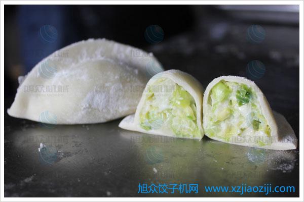 饺子机做饺子